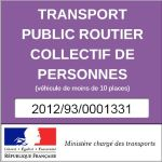 tprp public transport of people sticker