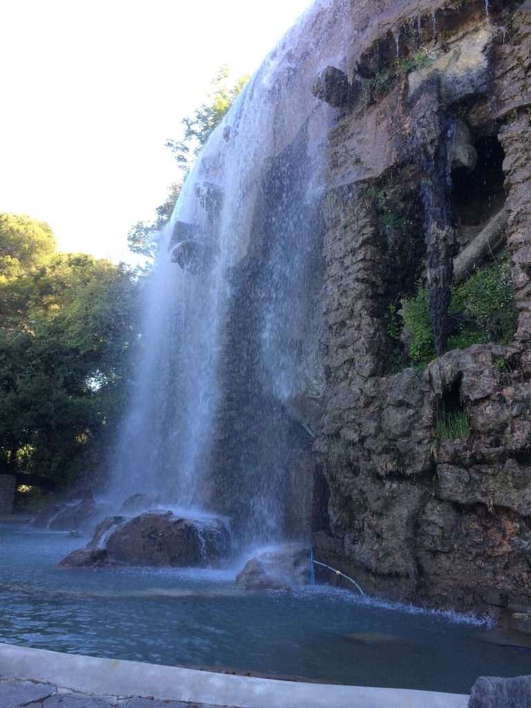 cascade -colline du chateau- nice