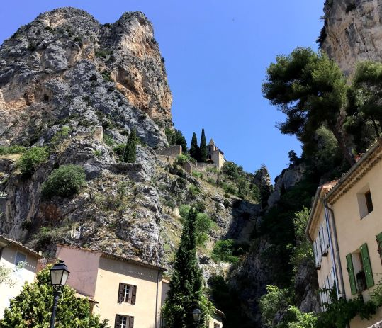 Chapel N.D. from Beauvoir to Moustiers ste Marie