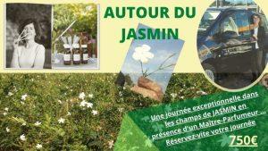 Autour du jasmin. atelier parfum
